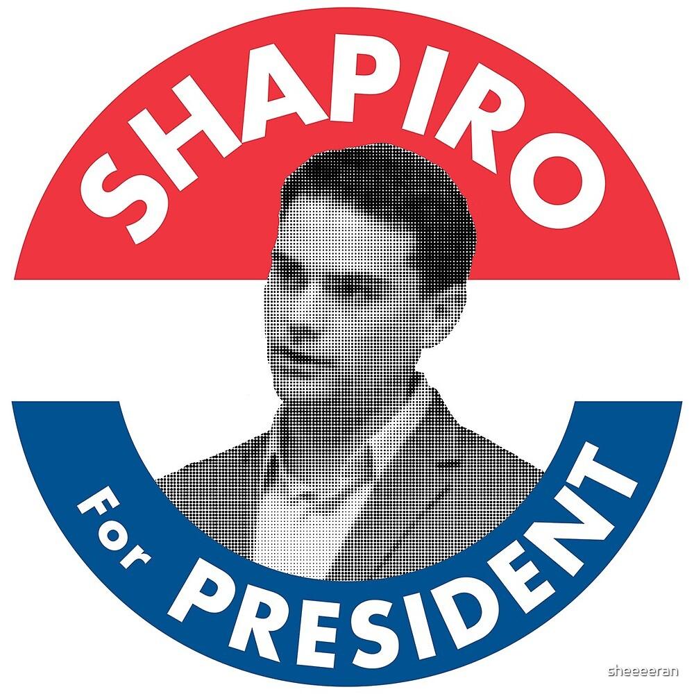 Ben Shapiro Campaign Logo by sheeeeran