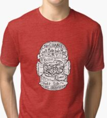 The Verve - Bitter Sweet Symphony - Illustrated Packaging  Tri-blend T-Shirt