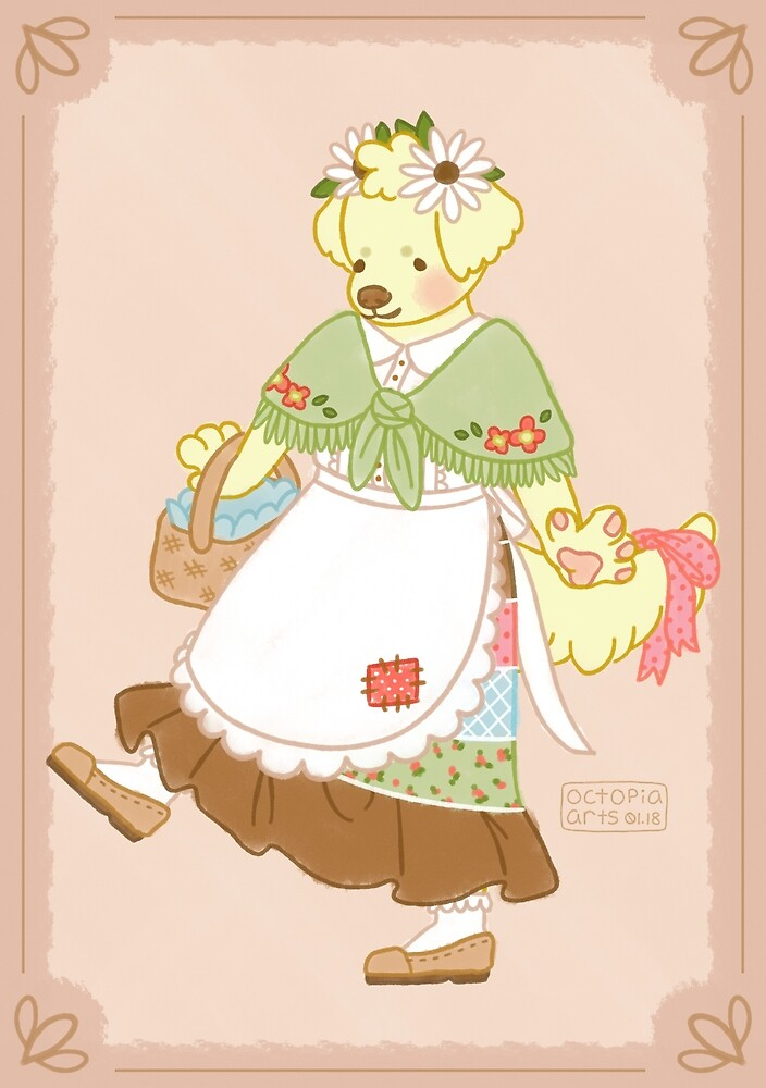 Mrs. Daisy Goes to the Market by OctopiaArts