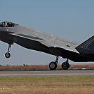 F-35 Landing by Daniel McIntosh