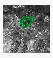 emerald beauty ... Photographic Print