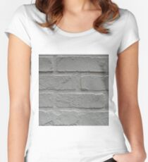 Anitque, White Women's Fitted Scoop T-Shirt