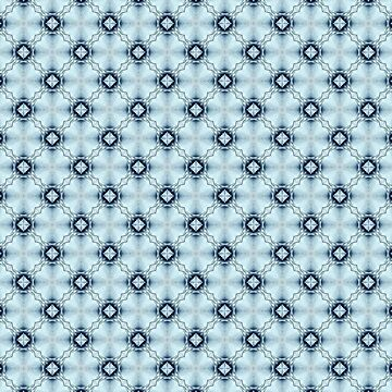 Pattern of Diamonds in Blues by FindURTreasures