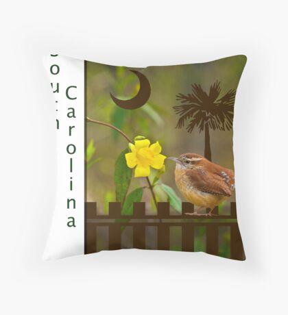 South Carolina Print Throw Pillow