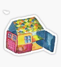 Cute House Sticker
