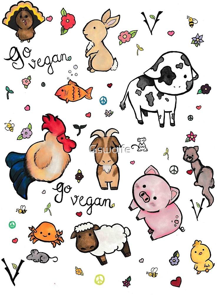 Vegan pattern  by Gswolfe