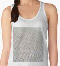 Bricks, background, patterns, grey, gray, cement, concrete, textures Women's Tank Top
