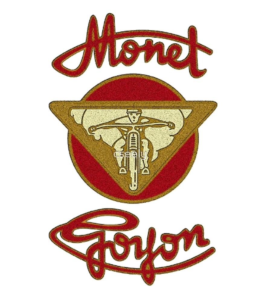 MONET GOYON VINTAGE MOTORCYCLE SHIRT by cseely