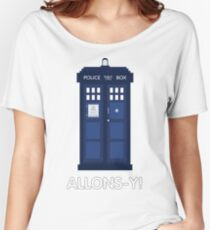 Doctor Who Police Call Box Women's Relaxed Fit T-Shirt