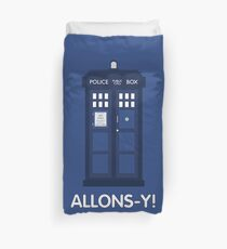 Doctor Who Police Call Box Duvet Cover
