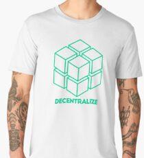 Decentralize - Bitcoin Men's Premium T-Shirt