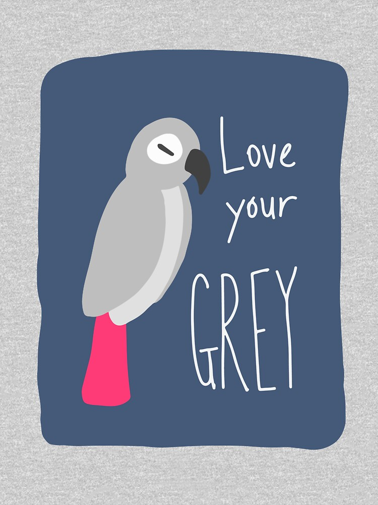 African Grey Parrot – Love Your Grey! by sensiblepony