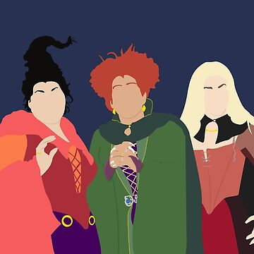 Sanderson Sisters by OutlineArt