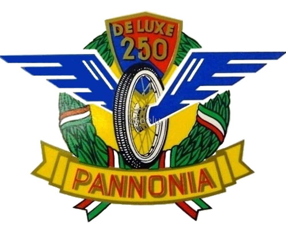 PANNONIA VINTAGE MOTORCYCLE SHIRT  by cseely