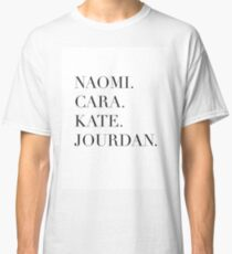 Models Classic T-Shirt