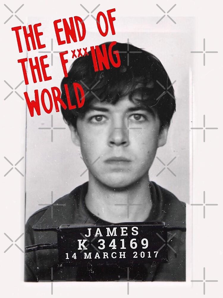 Netflix The End Of The Fucking World James Mugshot by nicoloreto