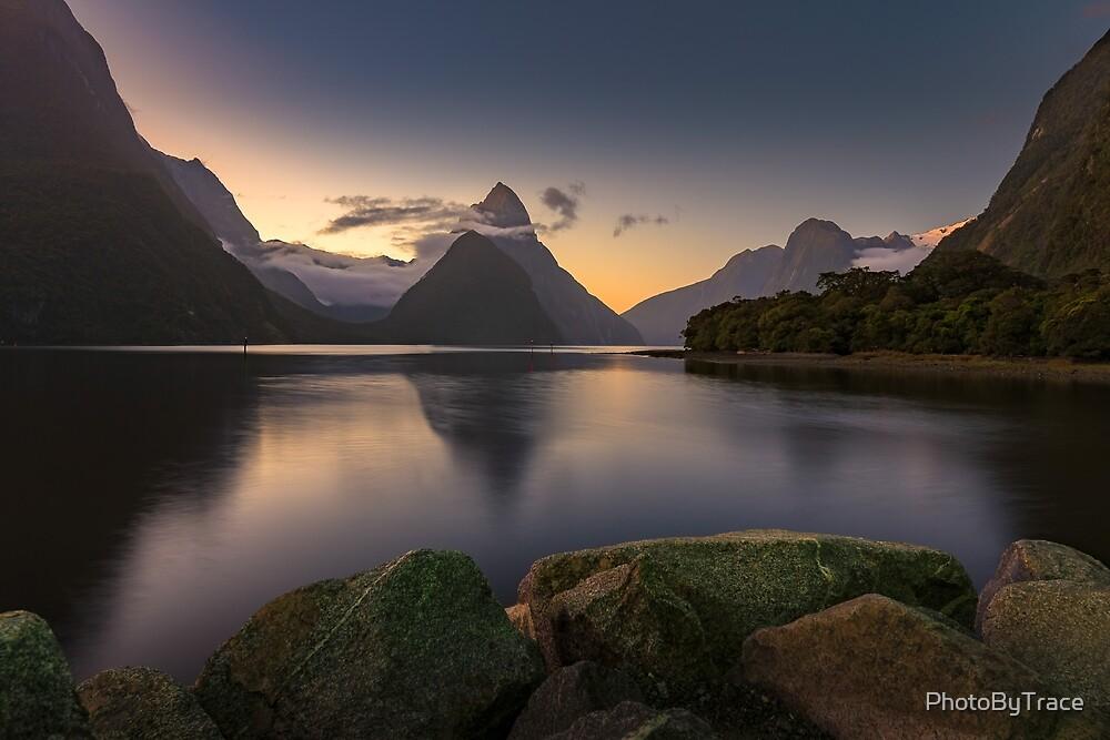 Mitre Peak Meditation by PhotoByTrace