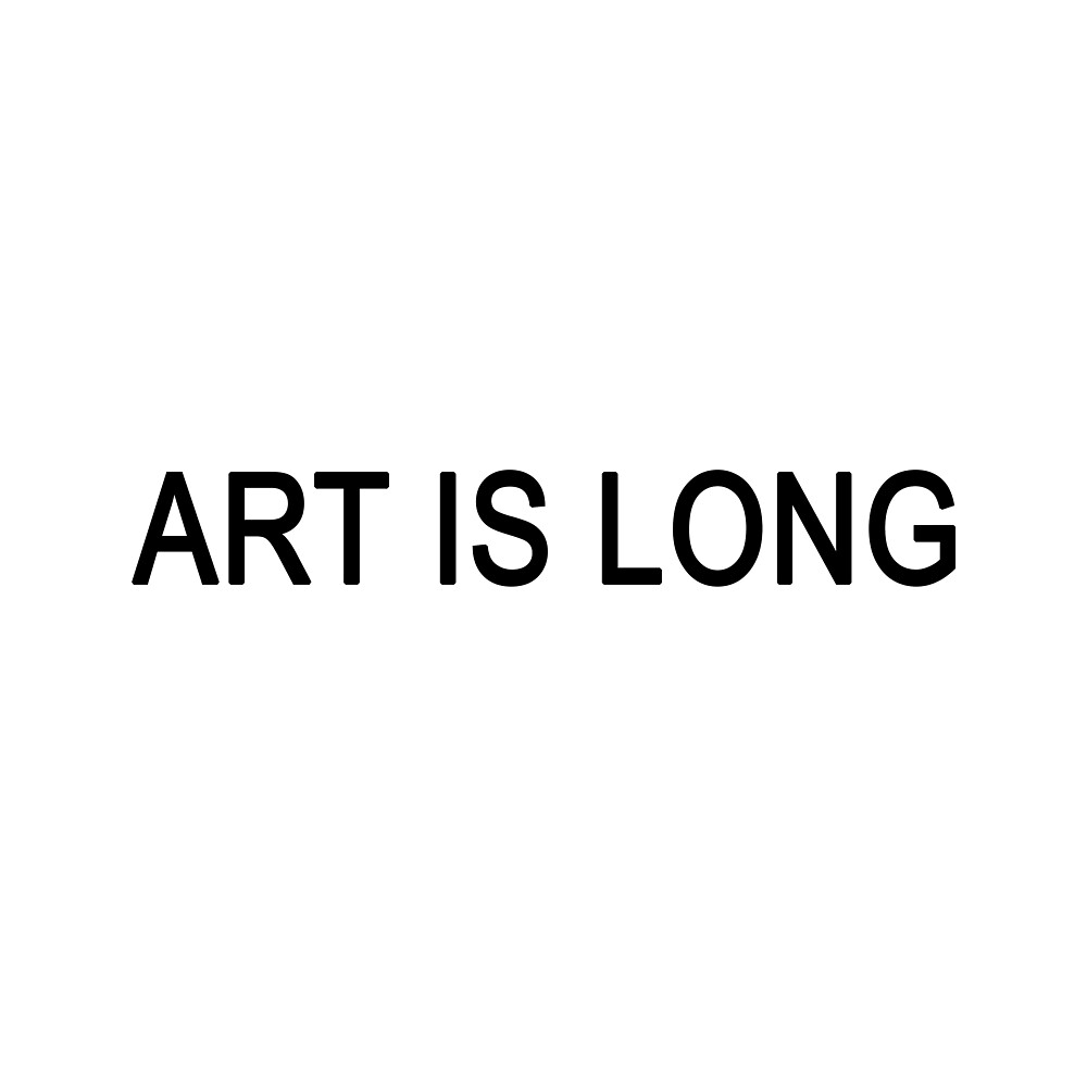 Art is Long by GoGoInaro