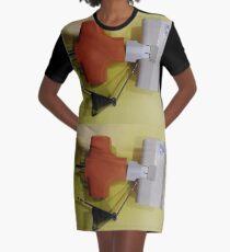 Surface Graphic T-Shirt Dress