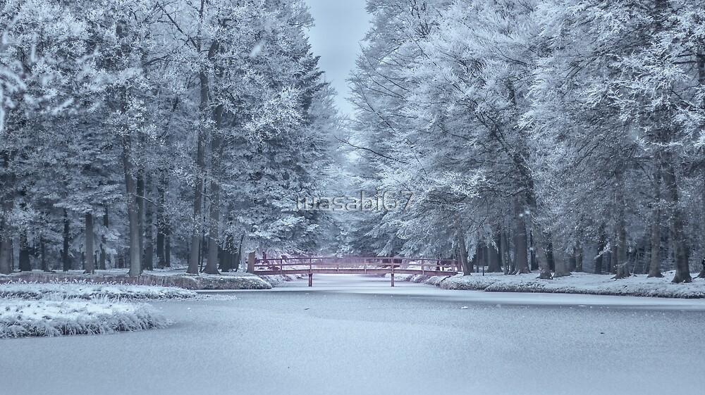 Cold Lonely Bridge by wasabi67