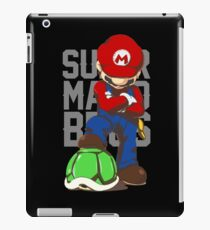 super mario bros - video games iPad Case/Skin