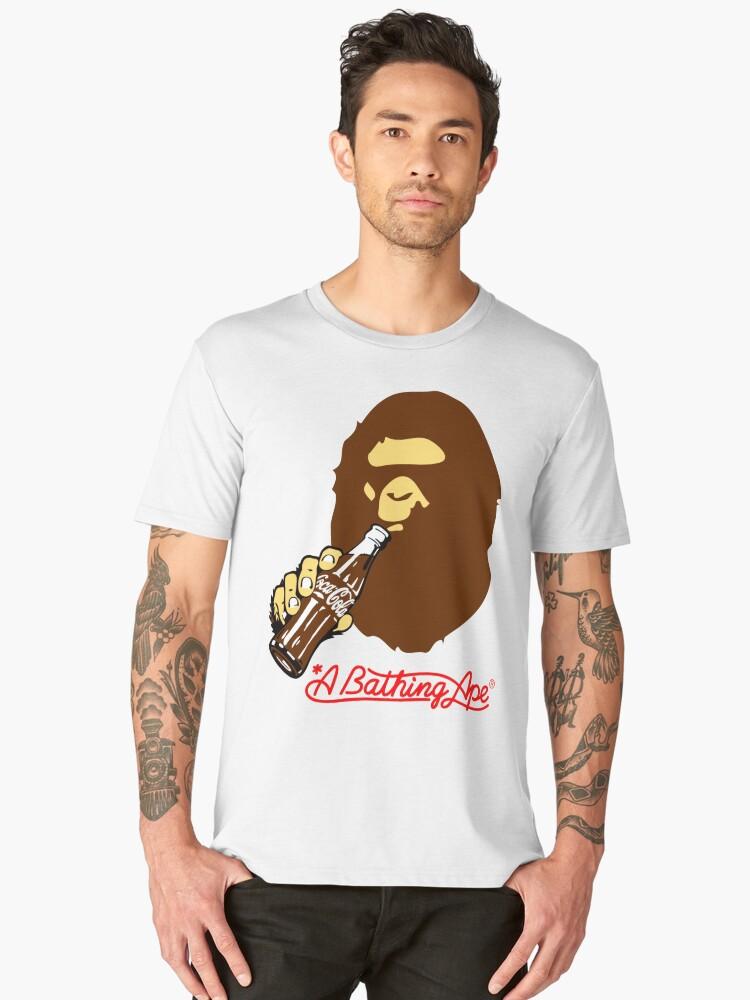 Bape need cola Men's Premium T-Shirt Front