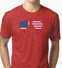 Sunglasses USA Tri-blend T-Shirt