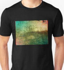 Moire Shrubbery (Inverted) Unisex T-Shirt
