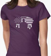 Sunglasses USA Women's Fitted T-Shirt