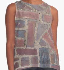 Surfaces, brick, wall, nonstandard, pattern Contrast Tank