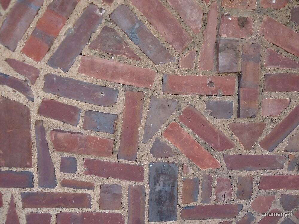 Surfaces, brick, wall, nonstandard, pattern by znamenski
