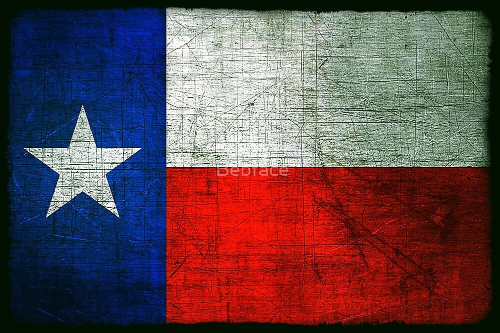 The Lonestar State, Texas by Bebface