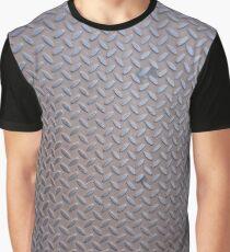 Surfaces, metal, pattern, door, basement Graphic T-Shirt