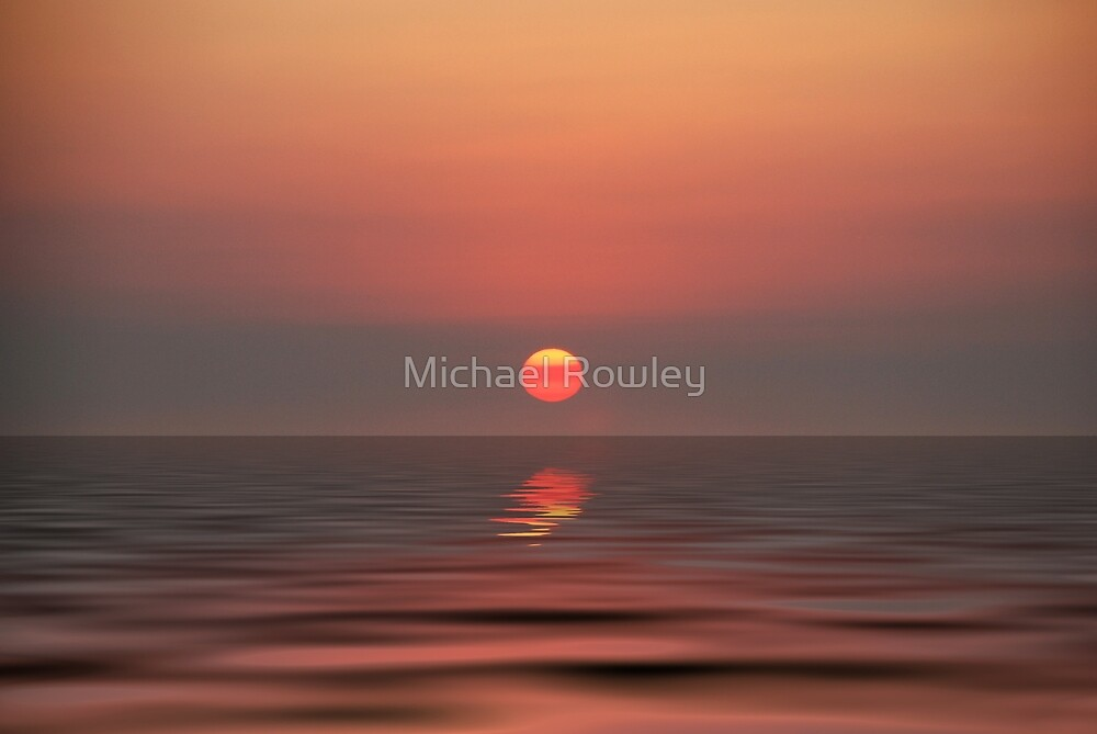 Rye smokey sunset by Michael Rowley