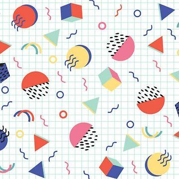 90's Modern Pattern  by jasmineann