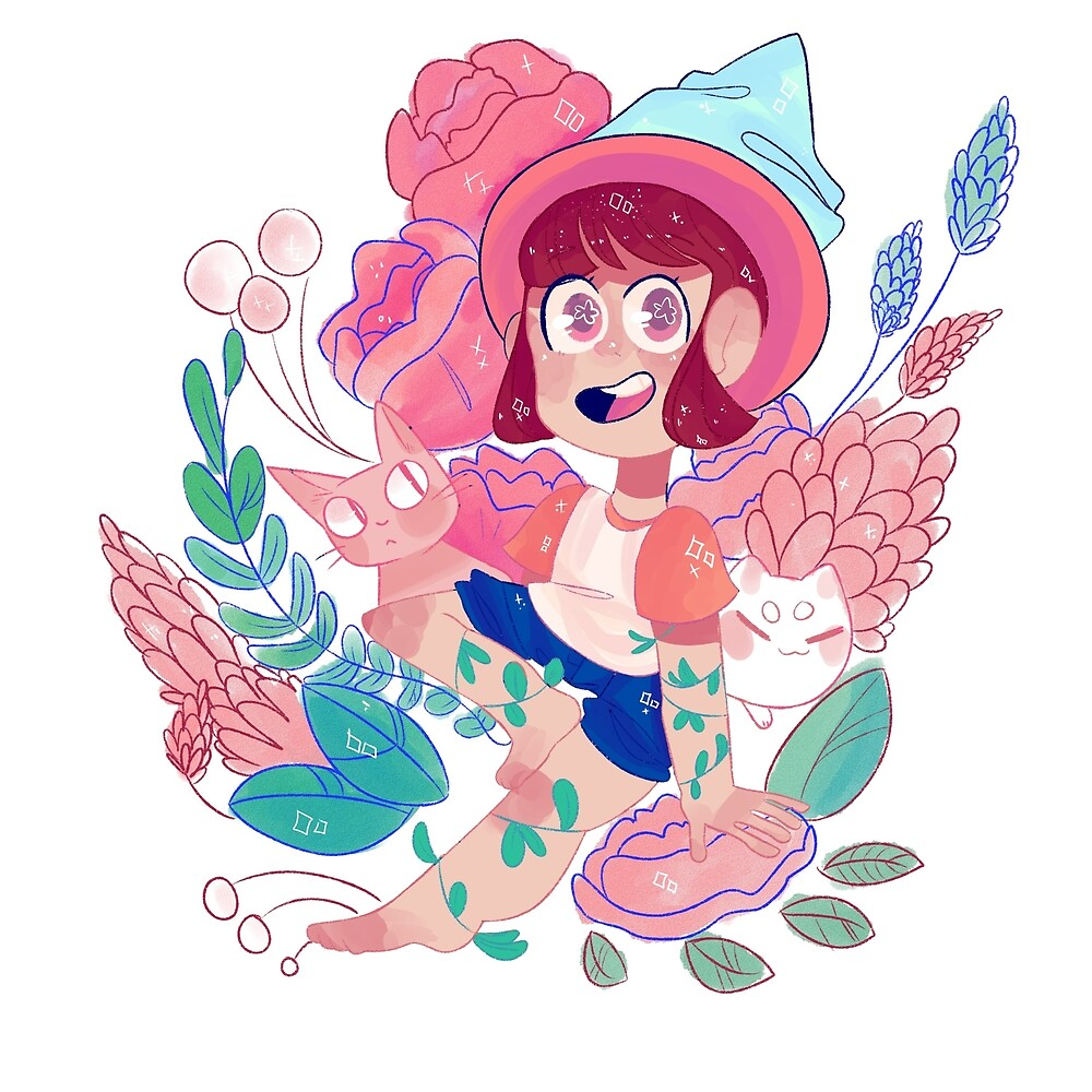 plant witch by cometbun