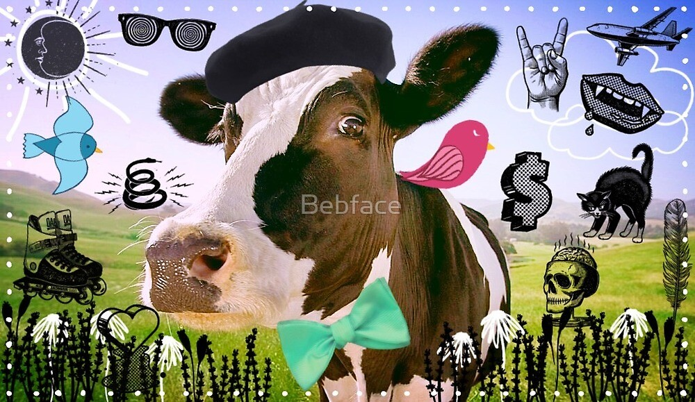 Hidden Pictures Cow by Bebface