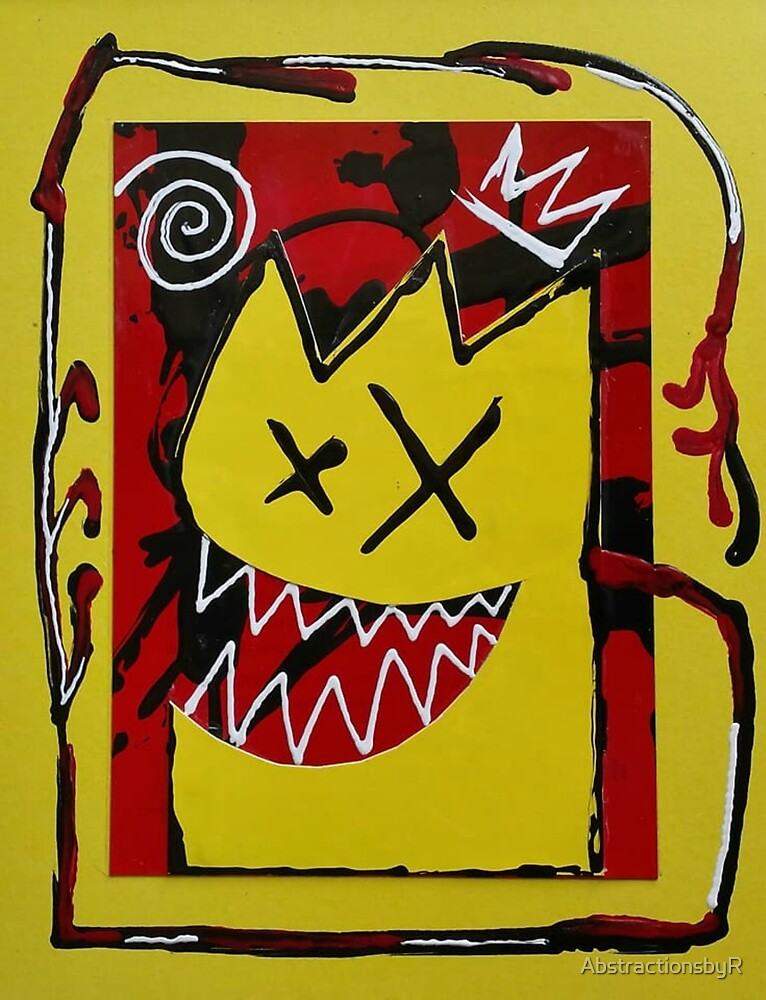 X-eyed monster by AbstractionsbyR