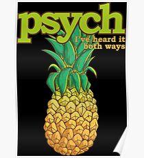 Ich habe es in beiden Richtungen gehört, Pineapple Style-Psycho-Version Poster