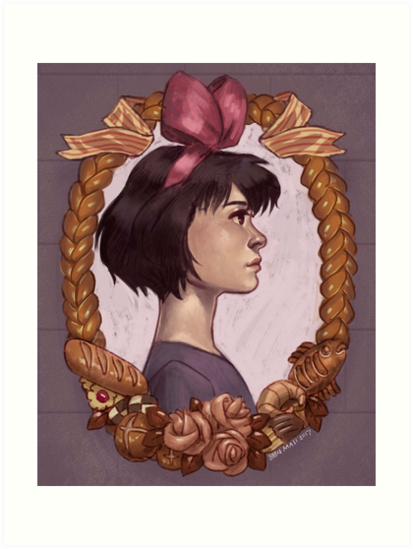 Kiki portrait by mainframe110