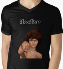 time lord with screwdriver Men's V-Neck T-Shirt