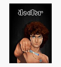 time lord with screwdriver Photographic Print