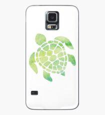 Funda/vinilo para Samsung Galaxy Tortuga marina de acuarela