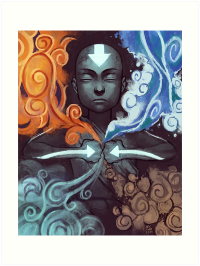 Avatar Aang by mainframe110