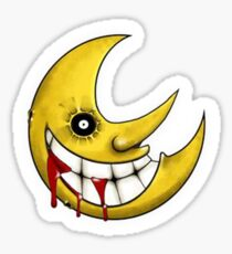Soul Eater Moon Sticker