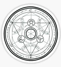 Fullmetal Alchemist Transmutationskreis Sticker