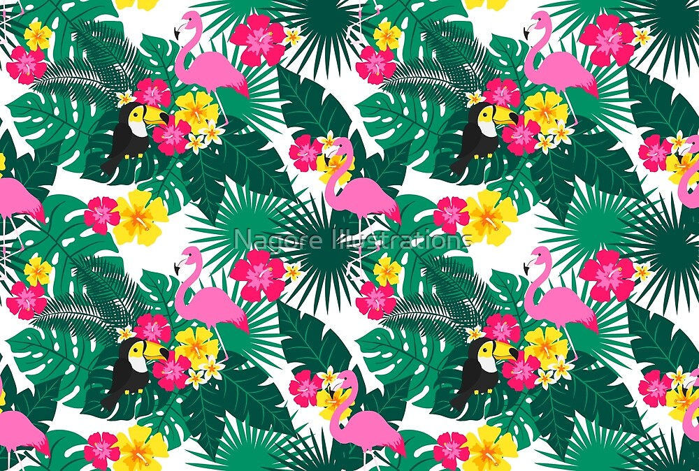 Tropical Vibes by Nagore Illustrations