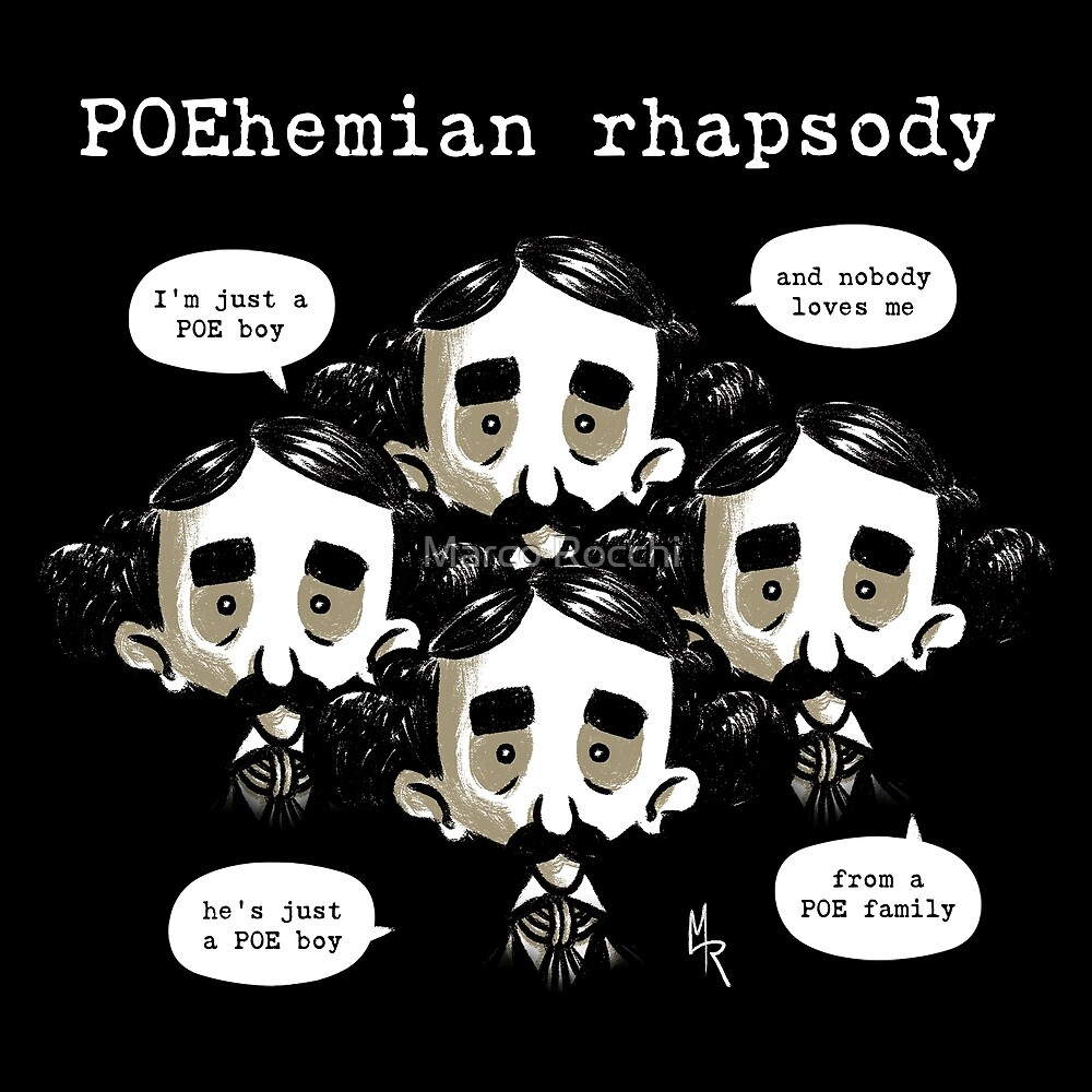 POEhemian rhapsody - POErtraits Collection by Marco Rocchi