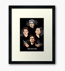 long live the Doctor Framed Print