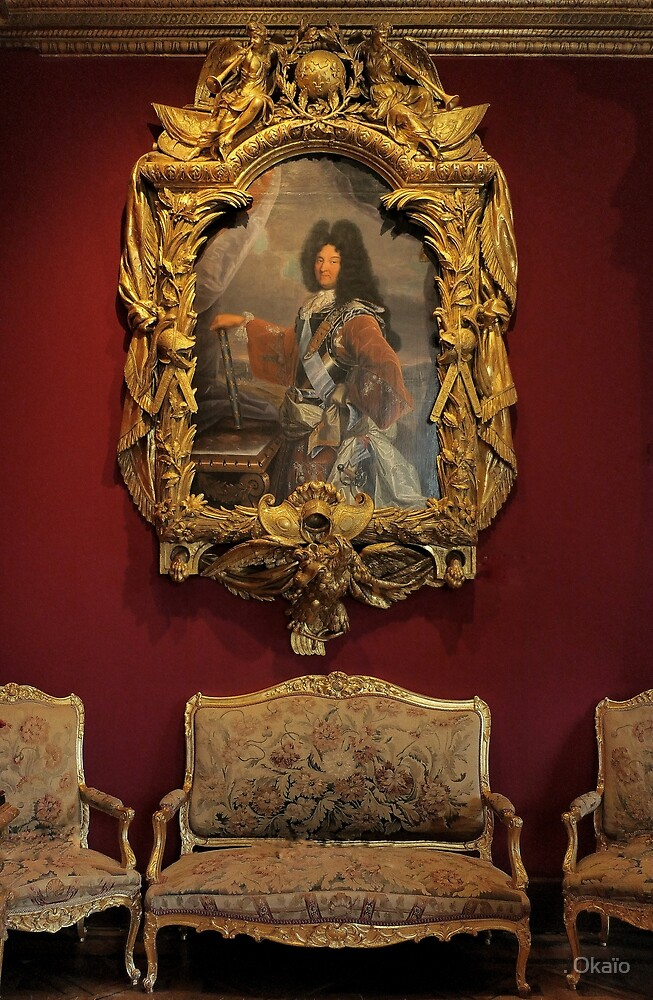 """Un Amour de Chenonceau """" Salon Louis XIV  (3)(h)  décembre 2017 par Olavia-Olao & Okaio Créations by . Okaïo"""